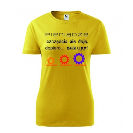 Koszulka damska z napisami