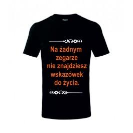 koszulka uniwersalna z napisem