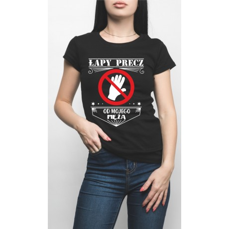 Koszulka Łapy precz..