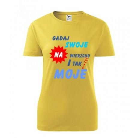 koszulka gadaj swoje