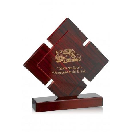 trofea drewniane z piktogramem