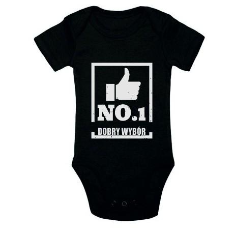 Body niemowlęce z nadrukiem No1 CHOICE