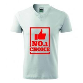 Koszulka z napisem No1 CHOICE
