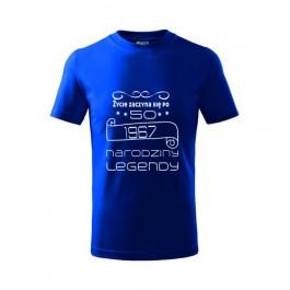 Koszulka z napisem ŻYCIE ZACZYNA SIĘ PO 50