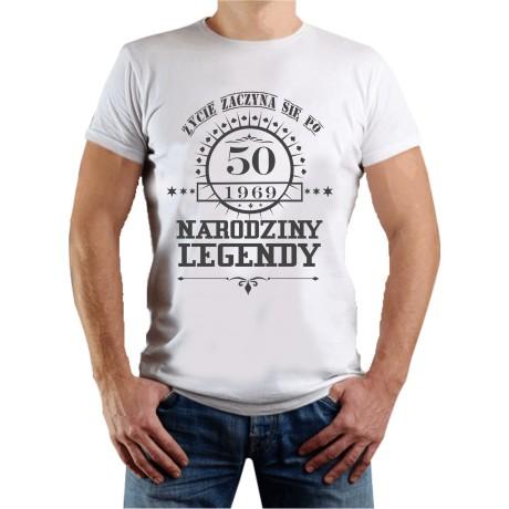 Koszulka z nadrukiem - narodziny legendy
