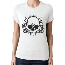 Koszulka z aplikacją czacha