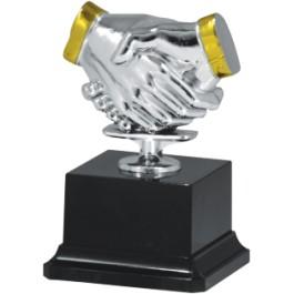 Statuetka uścisk dłoni