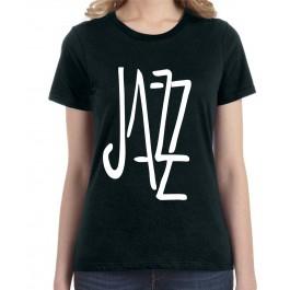 koszulka damska z napisem Jazz