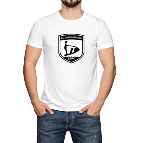 koszulka bawełniana męska  z napisem