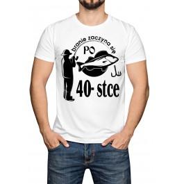 Koszulka - branie zaczyna sie po 40